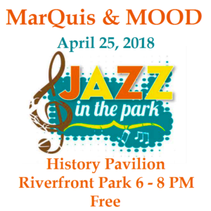 jazz in the park little rock riverfront park marquis hunt mood