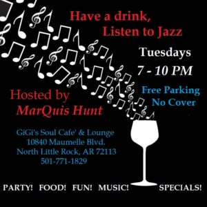 marquis hunt jazz music mood little rock gigis